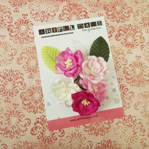 Sept Extra ~ Pink Flower set