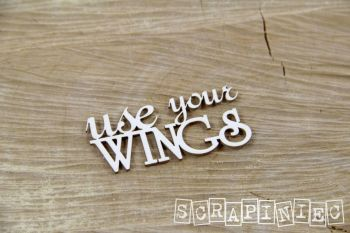 Words - Use Your Wings (3826)