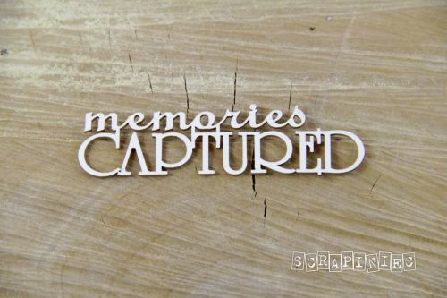 Words - Memories Captured