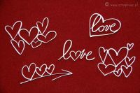 Brush Art Elements Hearts (3374)
