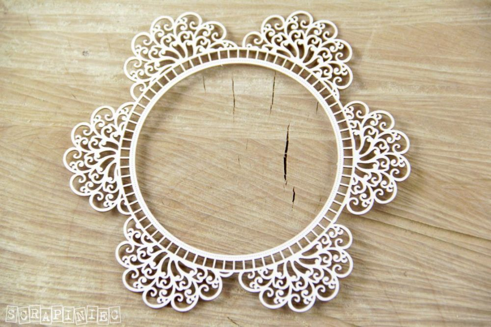 Doily Lace Round