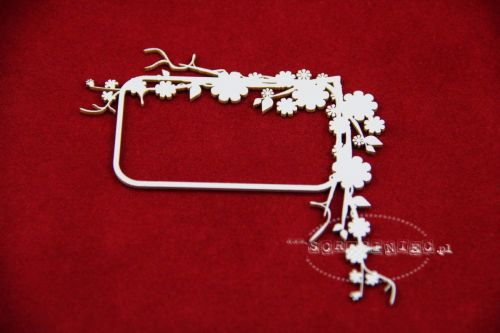 Appletree blossom frame 01