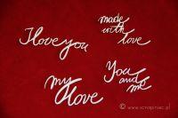 Brush Art Script Love (3191)