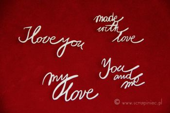 Brush Art Script Love (3191)