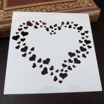 Stencil ~ Heart of Hearts