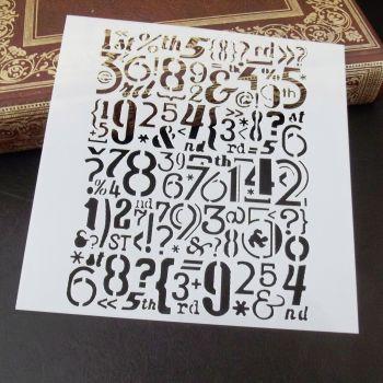Stencil ~ Numbers