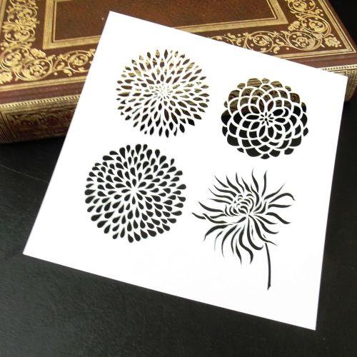 Stencil ~ Blooms