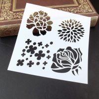Stencil ~ Floral Four