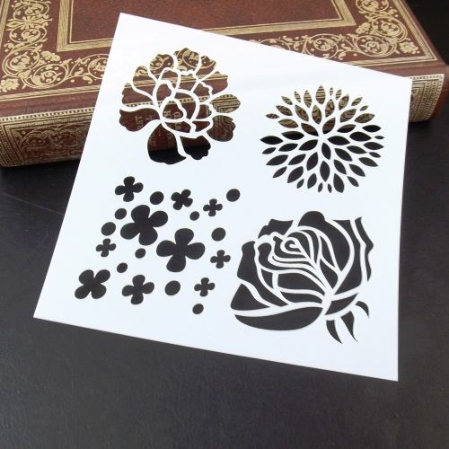 Stencils ~ Floral Four