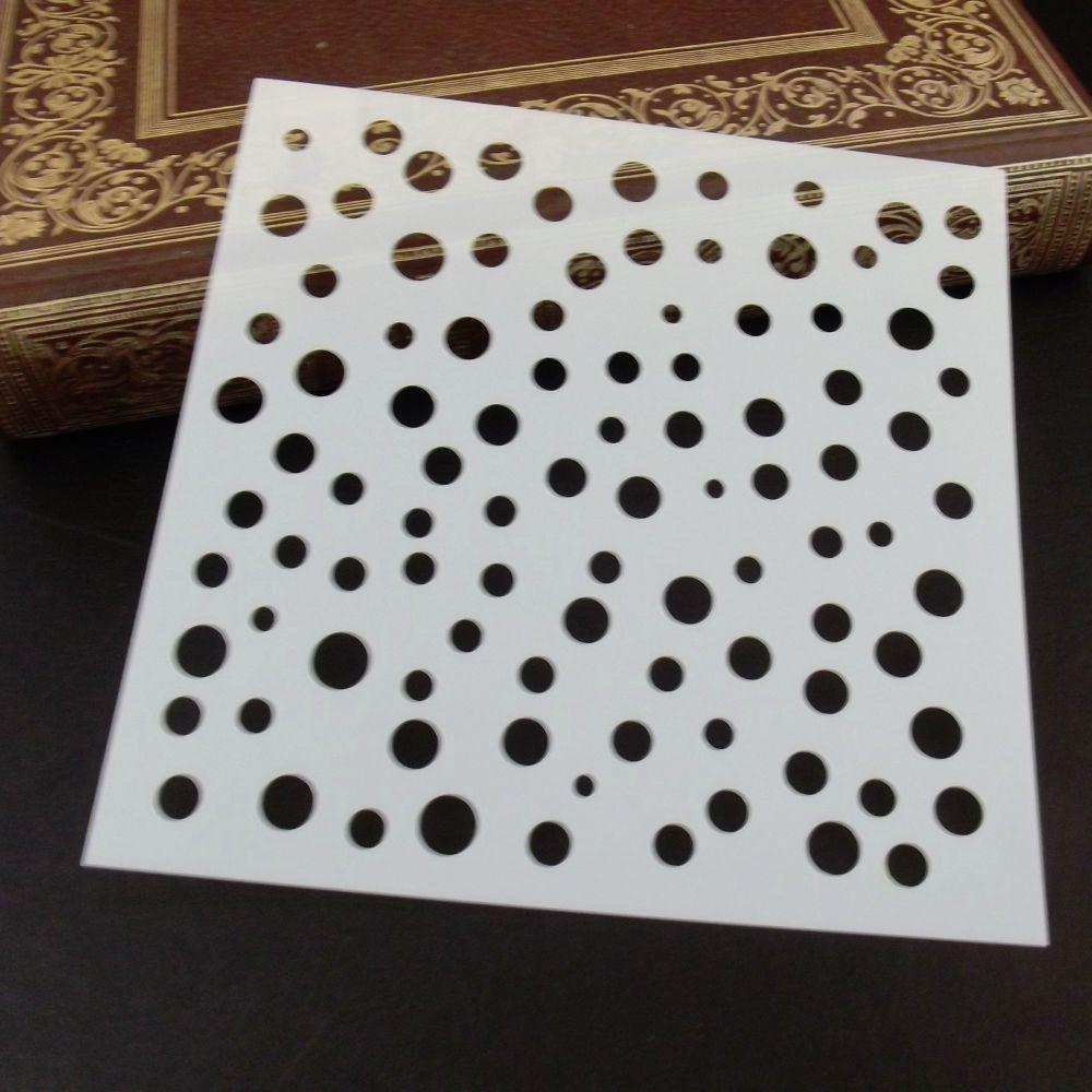 Stencil ~ Irregular Circles
