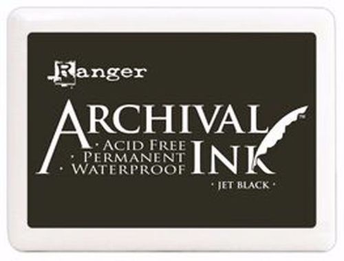 Ranger Archival Ink ~ Jet Black