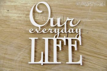 Words - Our everyday LIFE (3748)