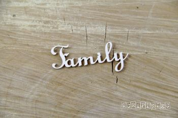 Words - Family x 2 (3757)
