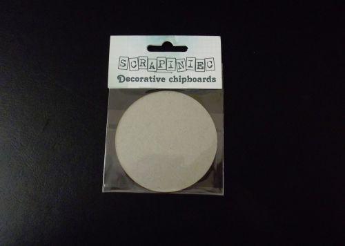 Grey board Circle 7cm