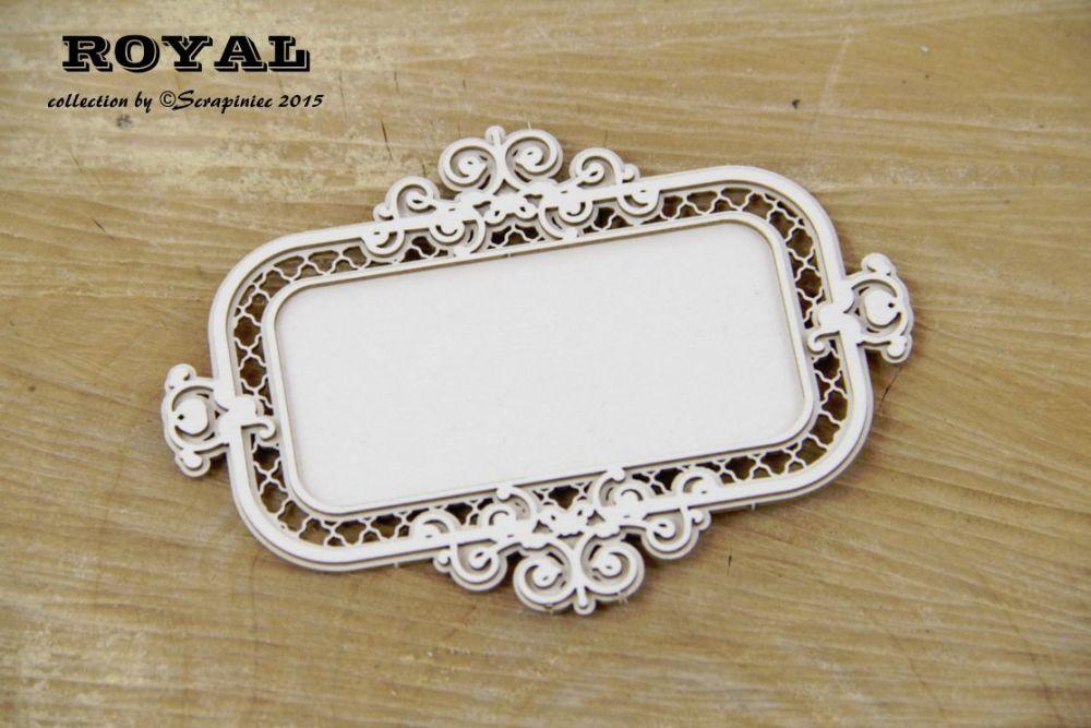 Royal rectangle frame