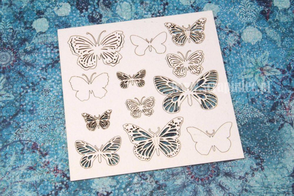 Butterfly openwork mix (2475)