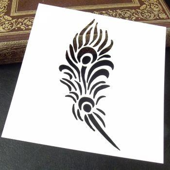 Stencil ~ Feather
