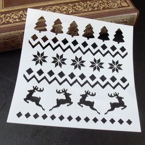 Stencil ~ Christmas Boarders