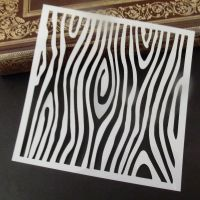 Stencil ~ Woodgrain Effect