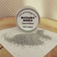 Artful Days Decorative Art Sand ~ Silver