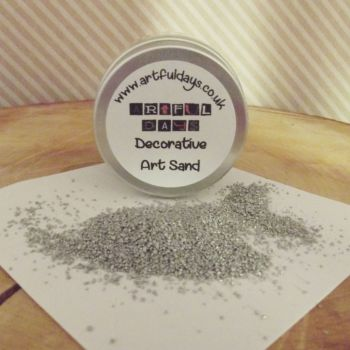 Artful Days Decorative Art Sand ~ Silver