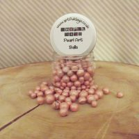 Artful Days Pearl Art Balls ~ Peachy