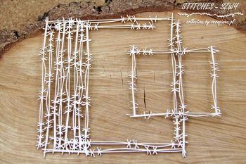 Stitches - Cross Stitch frame (4601)