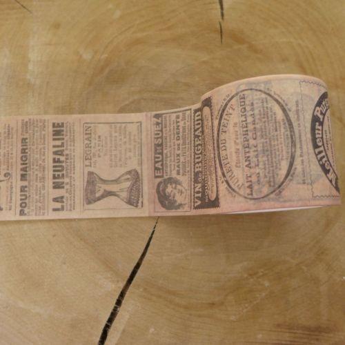 Vintage Advertisements Washi Tape