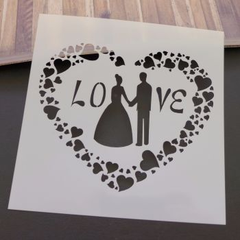 Stencil ~ Love & Marriage