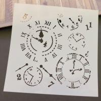 Stencil ~ Clocks