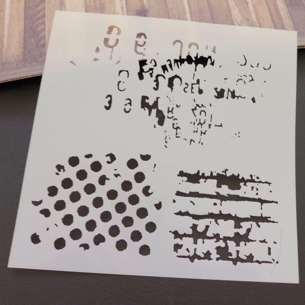 Stencils ~ Texture Three