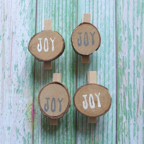 Joy Wooden Pegs