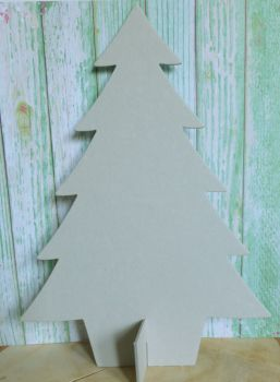 Grey Board Large Christmas Tree