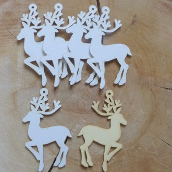 Chipboard Reindeer