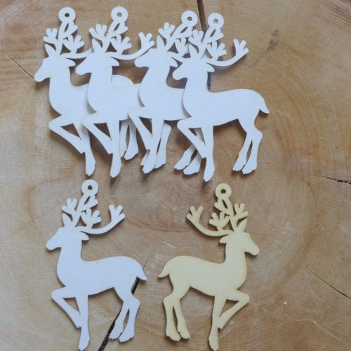 Chipboard Reindeer