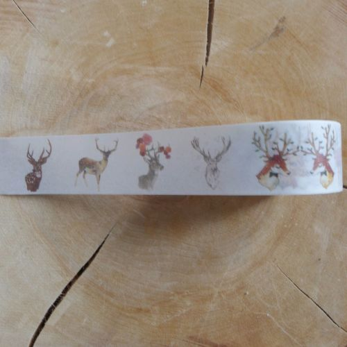 Christmas Deer/Elk Washi Tape
