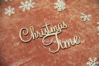Christmas Words - Christmas Time (2344a)
