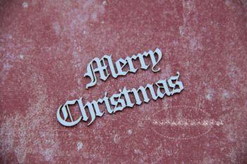Christmas Words - Merry Christmas (2355a)