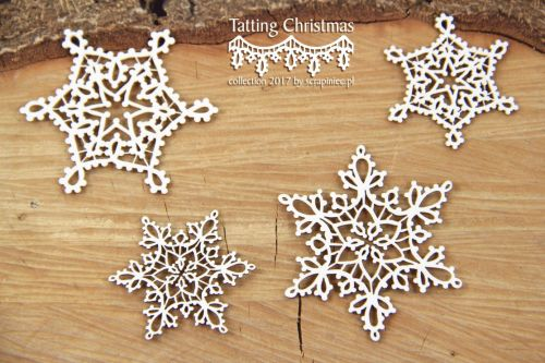 Tatting Christmas - Small Stars (4850)