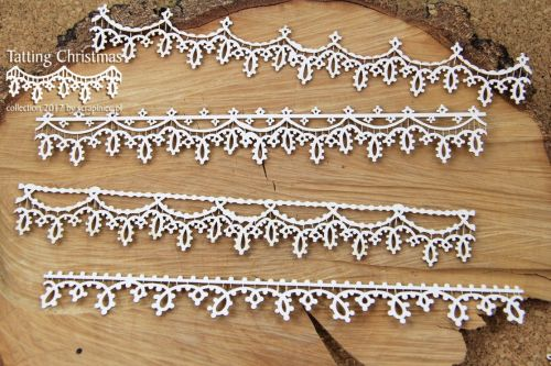 Tatting Christmas - Boarders XL