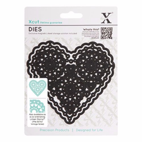Xcut Metal die - Filigree Heart