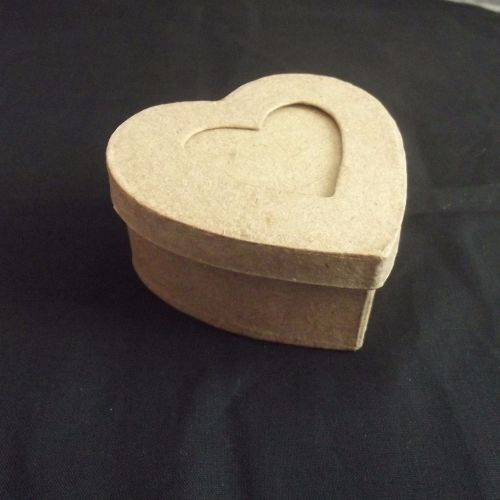 Papermache Heart Box