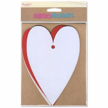 Aspire Crafts Dekromounts - Large Hearts