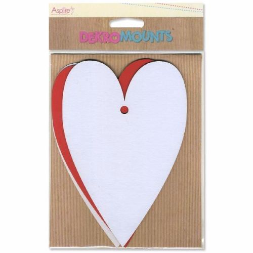 Aspire Crafts Dekromounts - Large Hearts