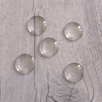 Glass Dome Cabochons - 18mm