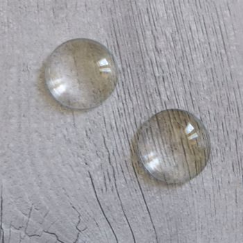 Glass Dome Cabochons - 25mm (GL003)