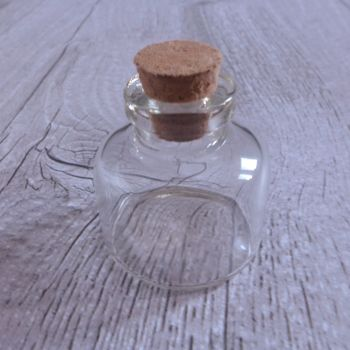 Glass Vial - Wide 30mm