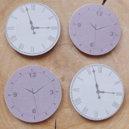 Wooden Clock Faces (E5004)