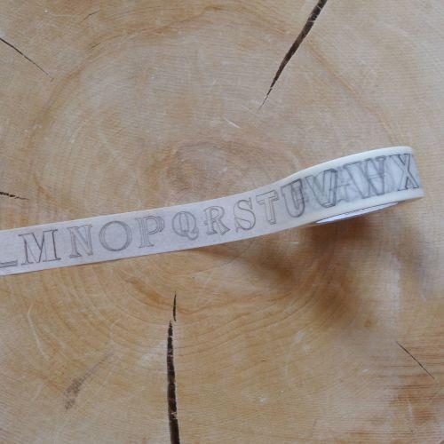 Alphabet Washi Tape (W8013)