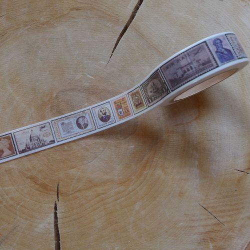 Vintage Stamps Washi Tape (W8014)